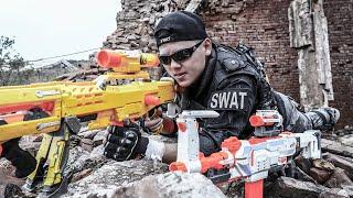 LTT Nerf War : SEAL X Warriors Nerf Guns Fight Criminal Group Dr.Lee Crazy The Bounty Hunter