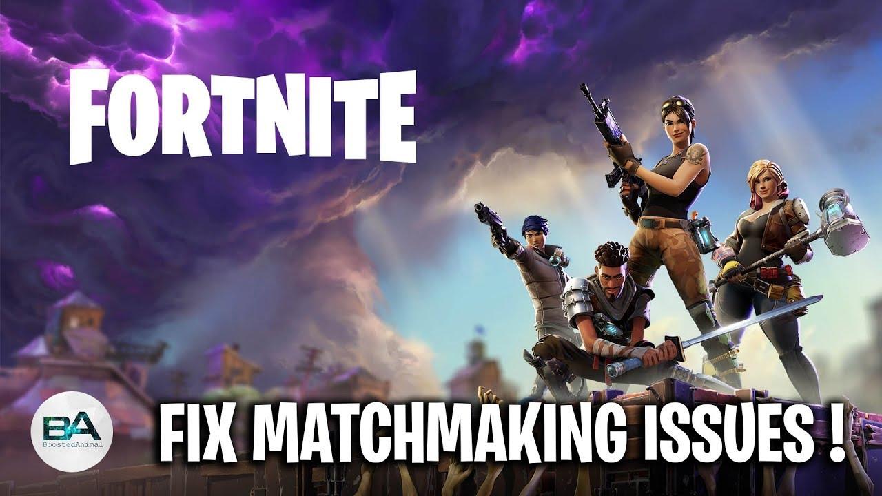 fix matchmaking