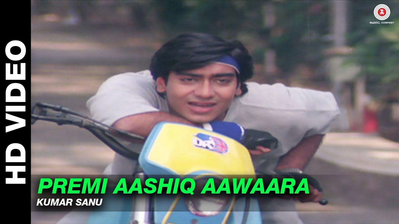 Download Premi Aashiq Aawaara - Phool Aur Kaante | Kumar Sanu | Ajay Devgn & Madhoo