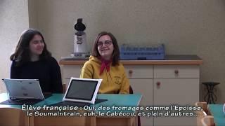 Atelier repas gastronomique dans le cadre du projet Erasmus+ AMOR