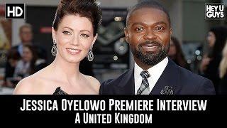 Jessica Oyelowo LFF Premiere Interview - A United Kingdom
