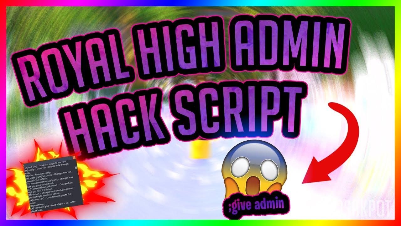 Diamonds Hack Roblox Royal High School Admin Script Exploit