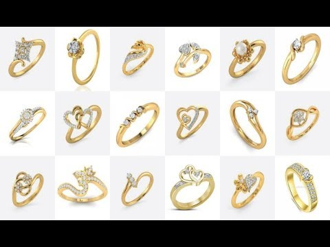 Latest Gold Ring Designs Daily Wear Gold Rings Designs For Women Rings Designs For Engagement Youtube