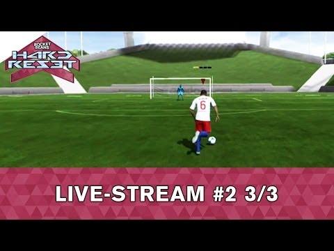 Rocket Beans' Hard Reset (Community Game: Fifa 13 - Eintracht Frankfurt vs. HSV) Folge 2 - 3/3
