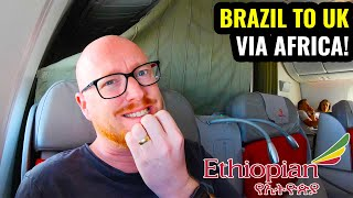 27 Hours on Ethiopian Airlines! Business Class on the Boeing 787 🇪🇹