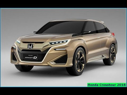 Honda Crosstour 2018 Exterior Overview