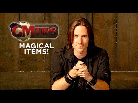 Creating Magical Items! GM Tips w Matt Mercer
