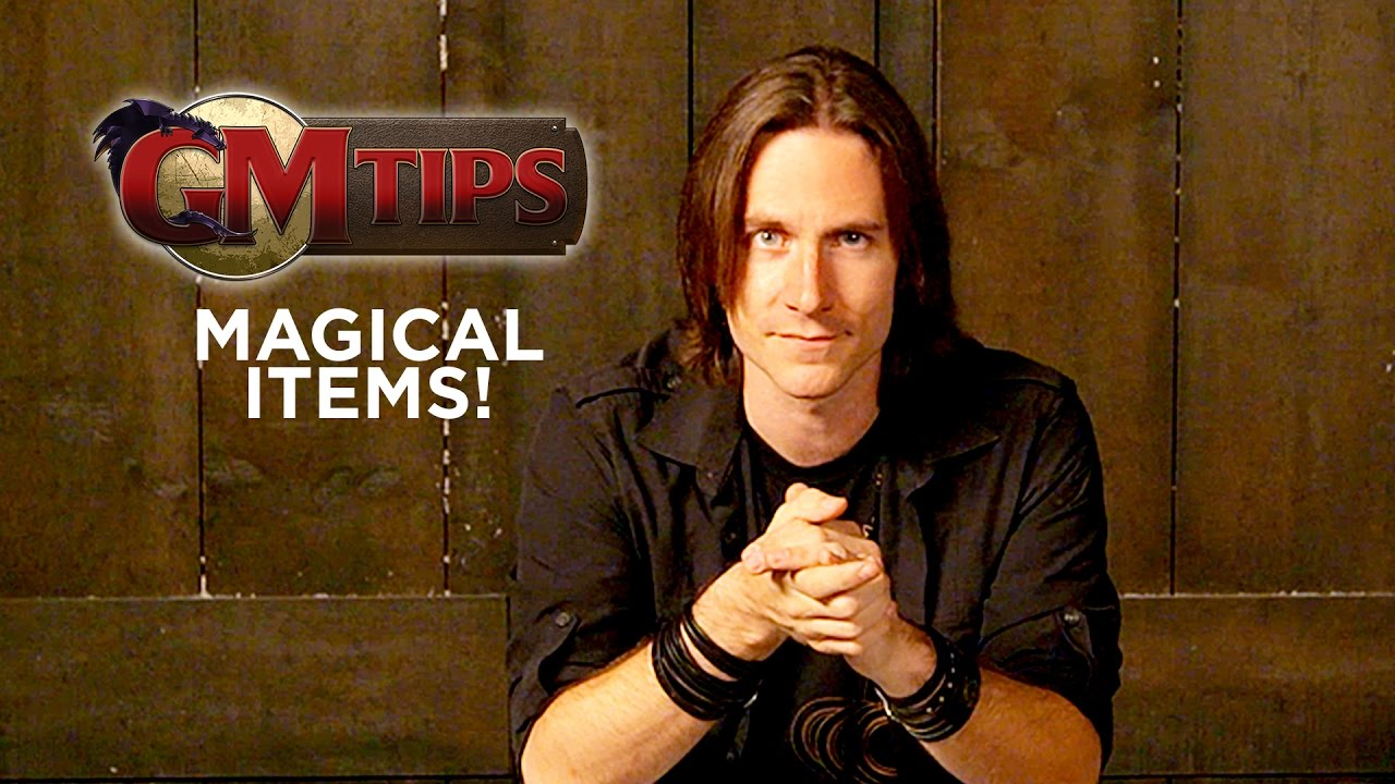 Creating Magical Items! (GM Tips w/ Matt Mercer)