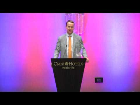 Peyton Manning 2016 Tennessean of the Year Acceptance Speech.