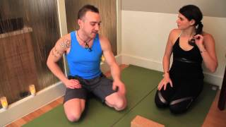 The Perfect Chaturanga Pose : Yoga with Derek Cook and the House of Jai Yoga Studio