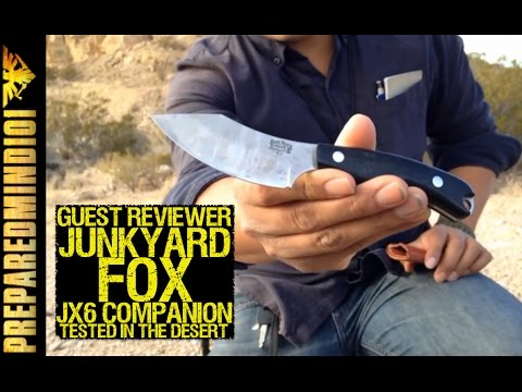 JX6 Companion: Desert Review by Junkyard Fox - Preparedmind101