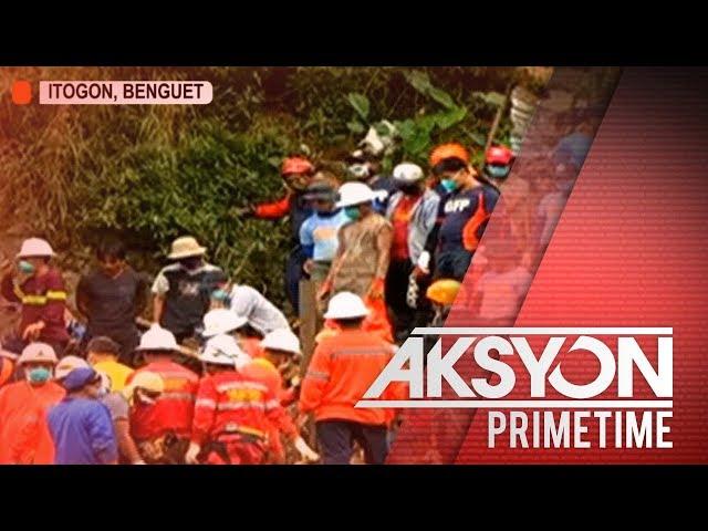 Nakuhang bangkay sa landslide sa Itogon, Benguet, umabot na sa 27