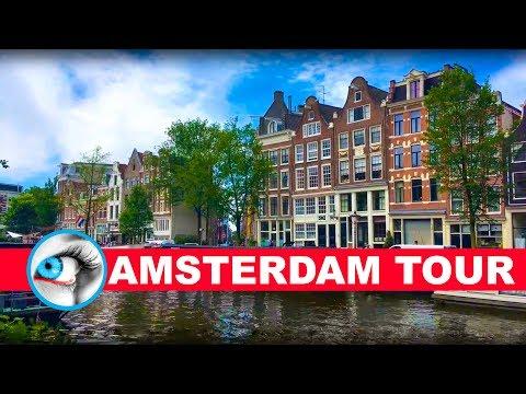 AMSTERDAM - SHORT TOUR - TRAVEL GUIDE 4K - NETHERLANDS