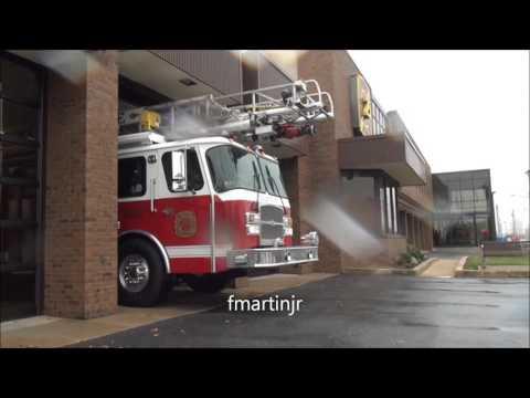 Talleyville Co 25 equipment check fire siren Quint response 11 19 15