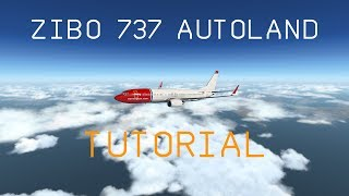 X-Plane 11|Zibo 737-800|Autoland Tutorial