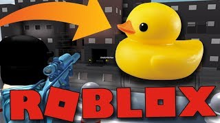 I'M A DUCK AND I CAN'T BE KILLED! | ROBLOX: Duck Dash