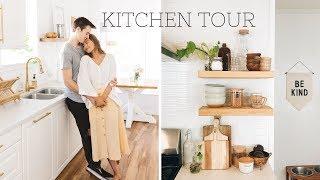 KITCHEN TOUR // decor & organization tips!