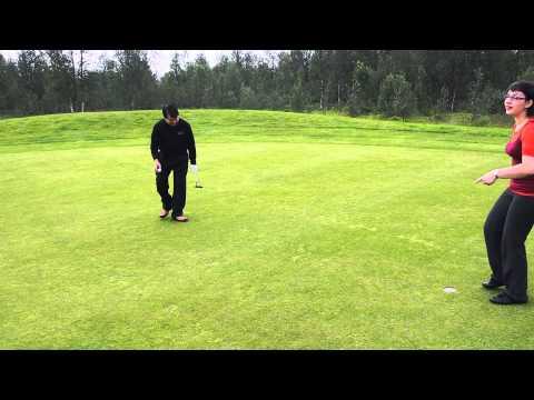 Tromso Golf   4 Putt for Par
