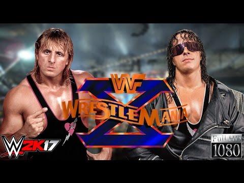 "WWE 2K17 GAMEPLAY: Owen Hart VS. Bret ""The Hitman"" Hart"