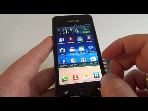 Samsung Galaxy S Advance GT-I9070 hands on