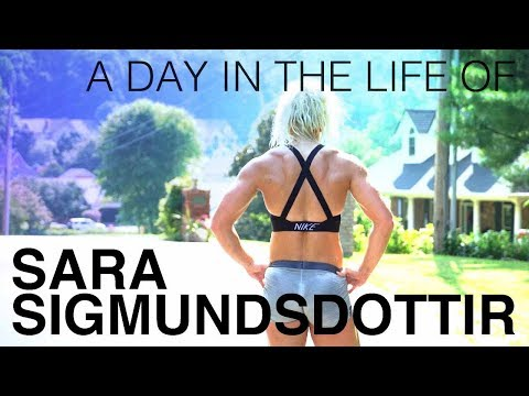 A Day in the Life of Sara Sigmundsdottir