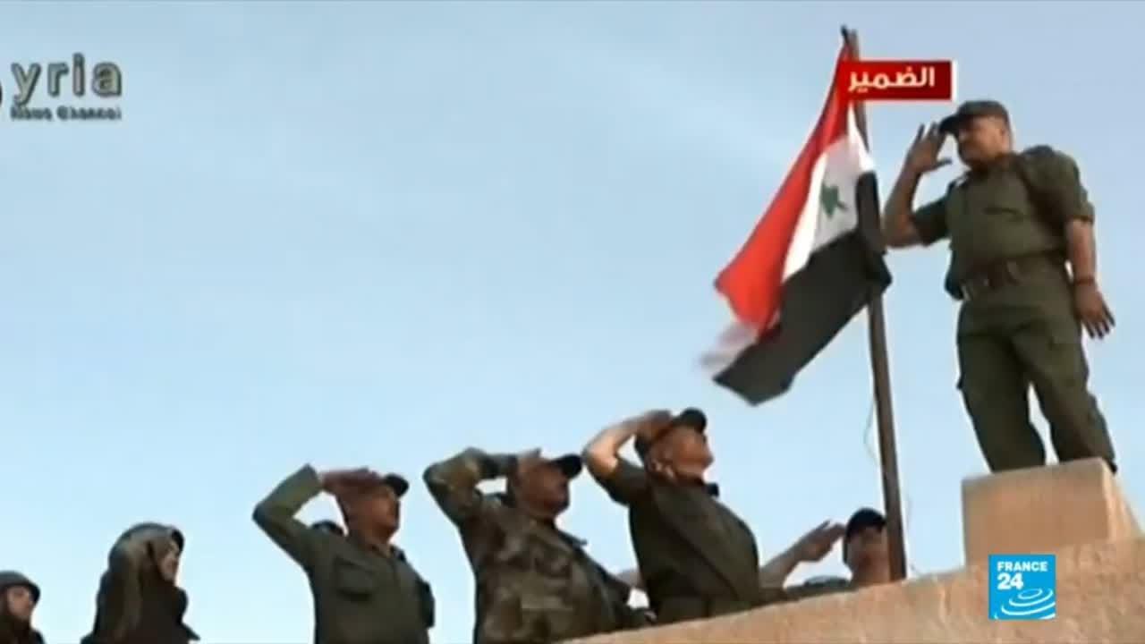 فرانس 24:Syria: Anti-government forces give up the strategic town of Dumayr in the outskirts of Damascus