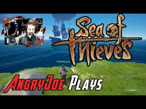 AngryJoe Plays Sea of Thieves! @E3 2017