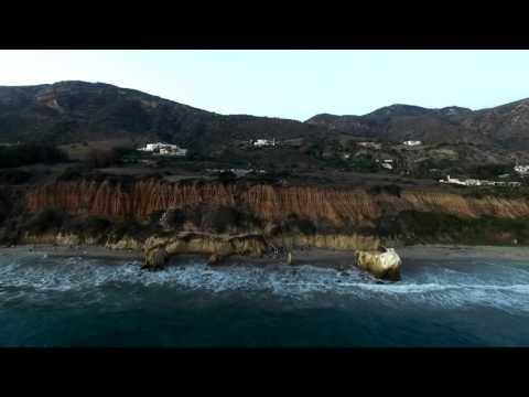 DRONE SHOT EL MATADOR STATE BEACH