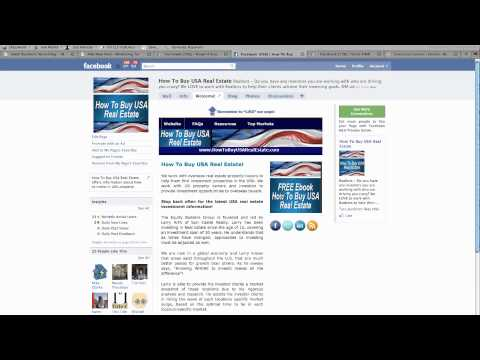 Custom Facebook Business Page Design - YouTube