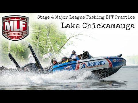 Lake Chickamauga Major League Fishing BPT Practice 2019