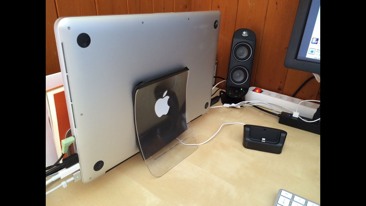 Diy Make A Macbook Stand With A Usd 2 Napkin Holder Youtube