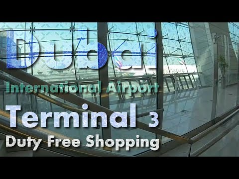 GoPro | Dubai International Airport | Terminal 3 Duty Free Shopping | Flight EK191 | #3