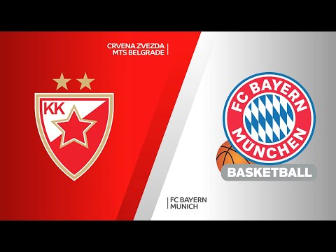 Crvena Zvezda mts Belgrade - FC Bayern Munich Highlights | EuroLeague, RS Round 27