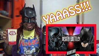 Black Panther VS Batman (Marvel VS DC) | DEATH BATTLE | REACTION & ANALYSIS