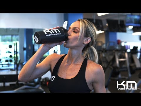 How I Take My Kaged Muscle Supplements With Tawna Eubanks