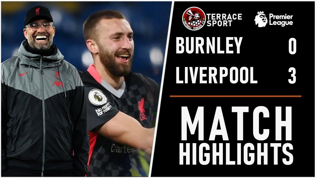 Liverpool beats Burnley 3-0, into Premier League's top 4