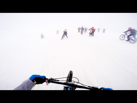 The SKETCHIEST run down the Mountain of Hell 2017! MASSIVE CRASH on the glacier!