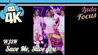 [4K & Focus Cam] WJSN - Save Me, Save You (Luda Focus) @Show! Music Core 20180922