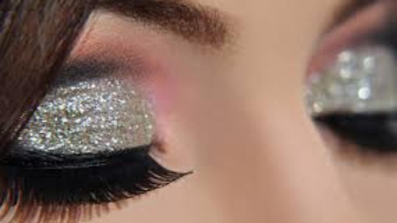 Makeup Cut Crease Silver Glitter Elegant Makeup Tutorial Makeup