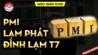 PMI, Lạm phát, Đình lạm tháng 7? tác động đến thị trường chứng khoán - Góc nhìn TCKD