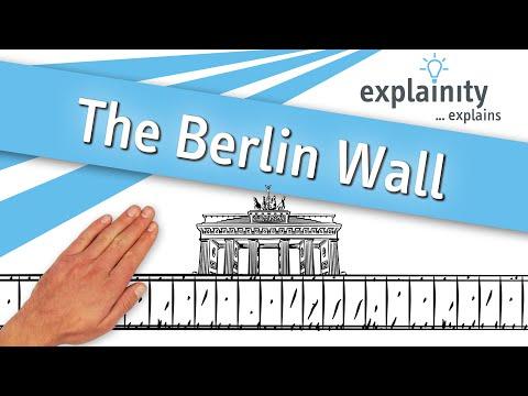 The Berlin Wall explained (explainity® explainer video)