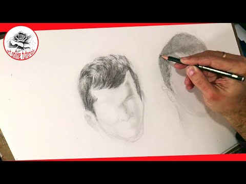 how-to-draw-boys-hair-with-pencil-step-by-step-:-drawing-the-easy-way