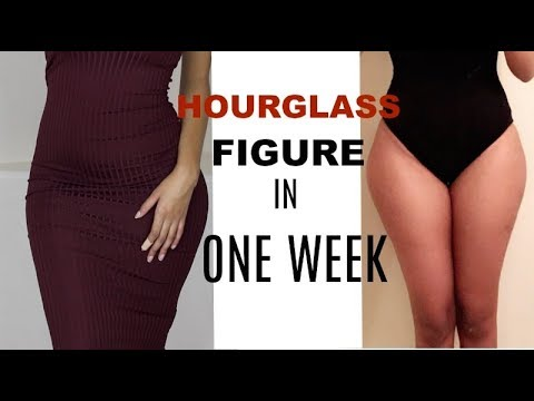 HOW TO get an HOURGLASS figure in ONE WEEK