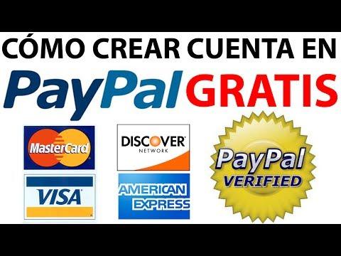 Como Crear una Cuenta en PayPal GRATIS PASO a PASO Sin Tarjeta de Crédito o Con Tarjeta Débito