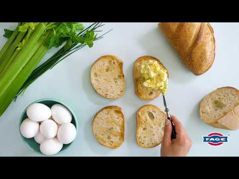 Greek Yogurt Egg Salad Sandwich Recipe