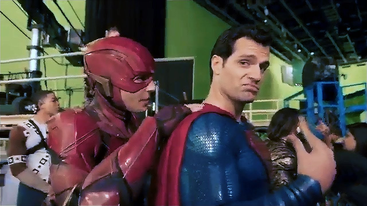 cyborg justice league behind the scenes youtube