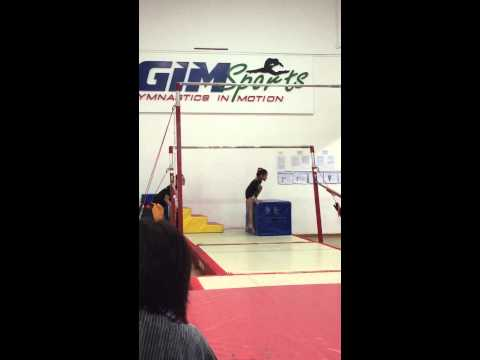 GIM Sports Friendship Meet 2015 - Uneven Bars (Alena Tan)