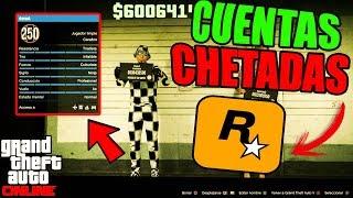 ASÍ ENTREGO LAS CUENTAS CHETADAS DE GTA ONLINE QUE COMPRAN EN MI PAGINA WEB!