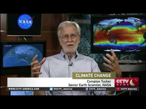 Compton Tucker (NASA) on the 2016 global temperature trends