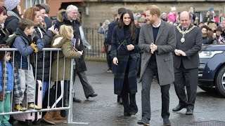 Scotland welcomes Prince Harry and Meghan Markle
